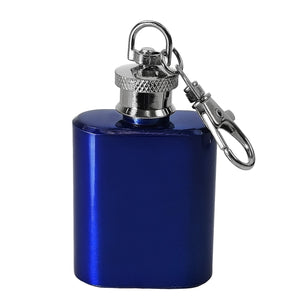 1oz Key ring Hip Flask