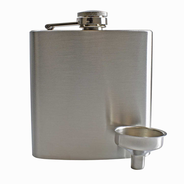 6oz Hip Flask with Funnel and Gift Box - Mother's Day Printed Lid