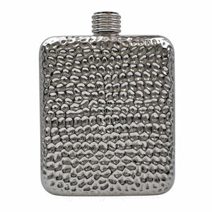 6oz High Quality Dimpled Hip Flask