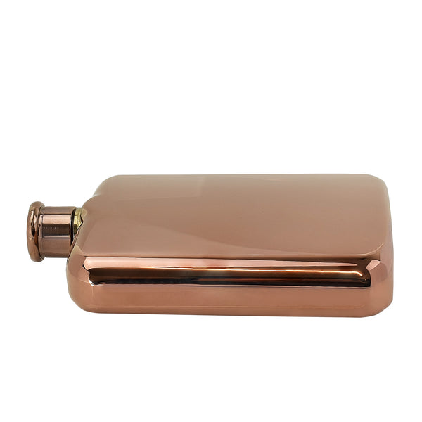 6oz High Quality Rose Gold Hip Flask