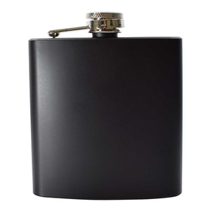 Black Hip Flask 6oz