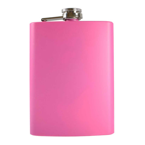 8oz Pink Hip Flask