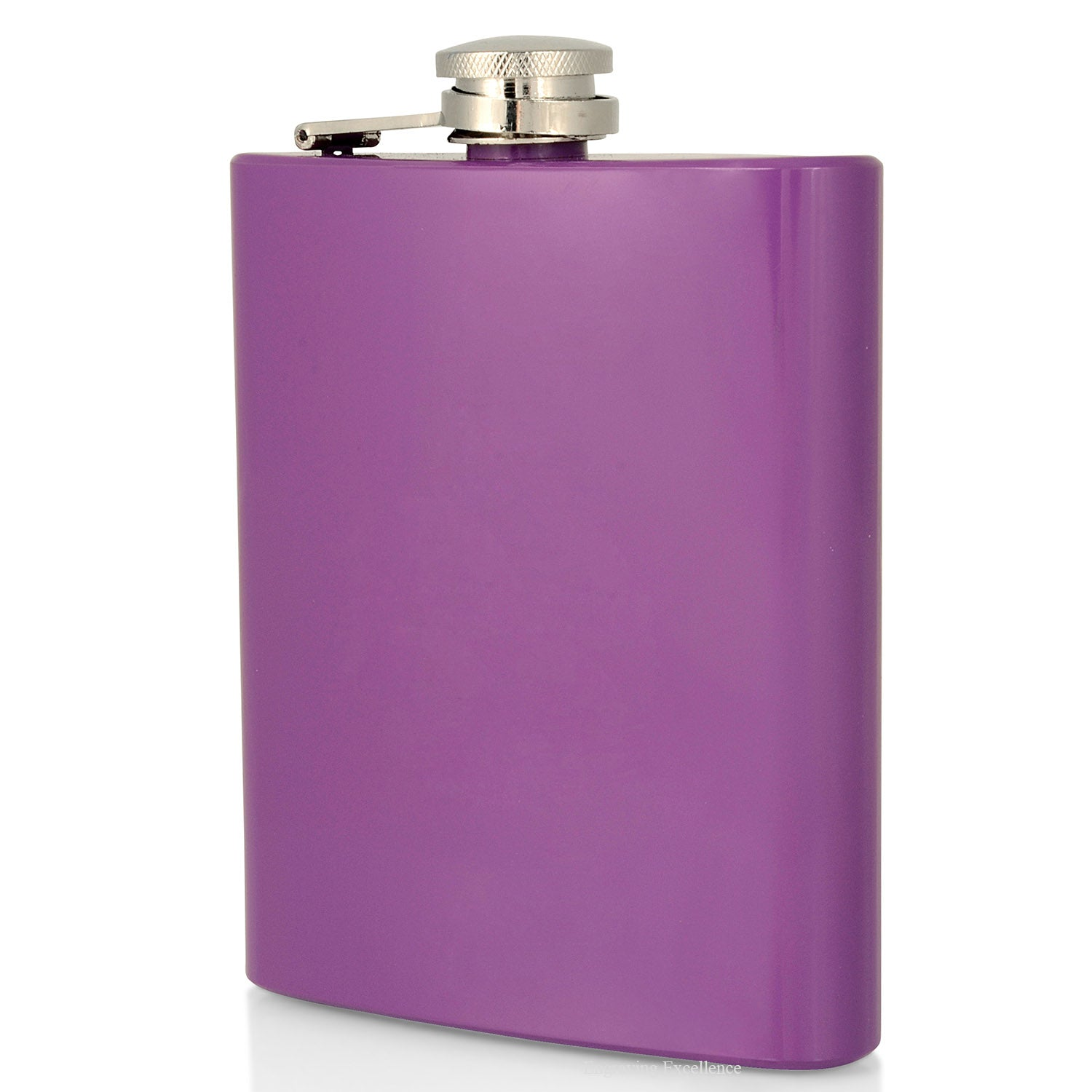 Purple Hip Flask