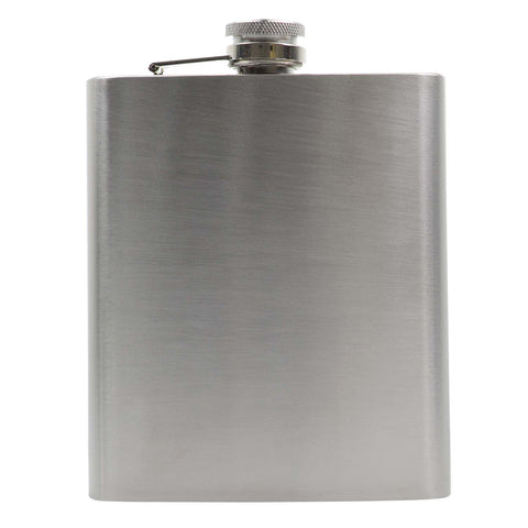 Engraved 18oz Hip Flask