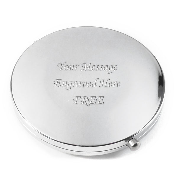 Round Compact Mirror in a Gift Box