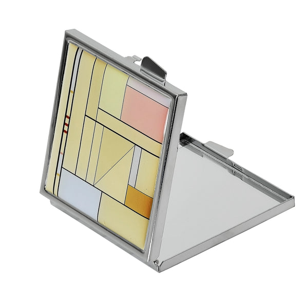 Art Deco Design Compact Mirror