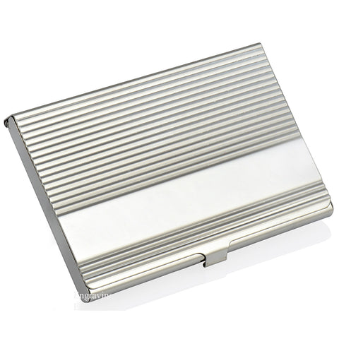 Ridged Design Business Card Holder