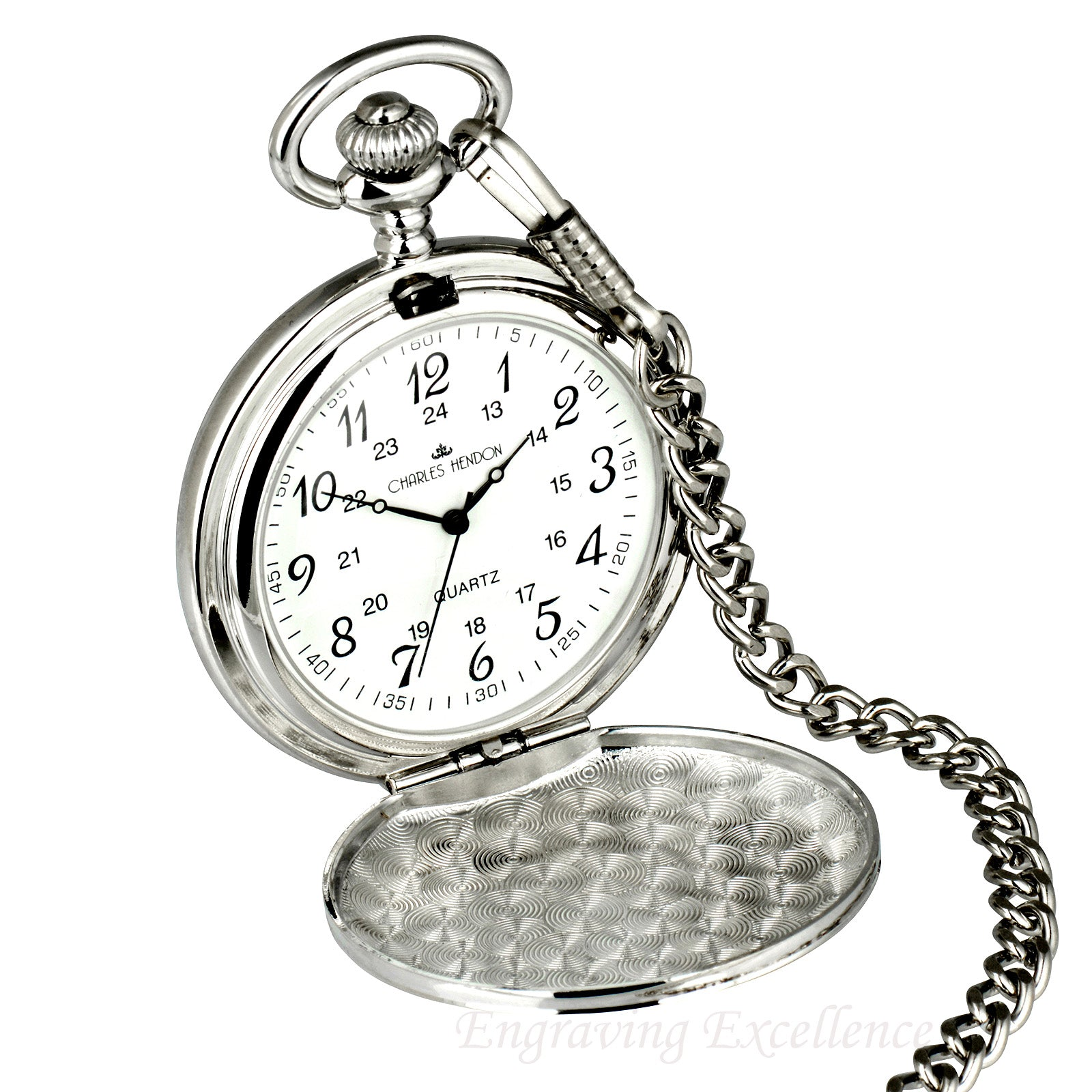 Silver Pocket Watch