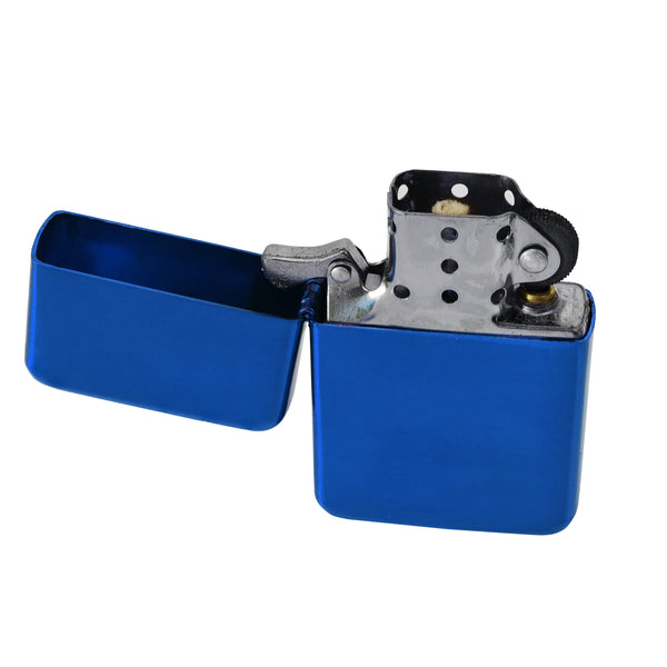 Personalised Blue Flip Lighter