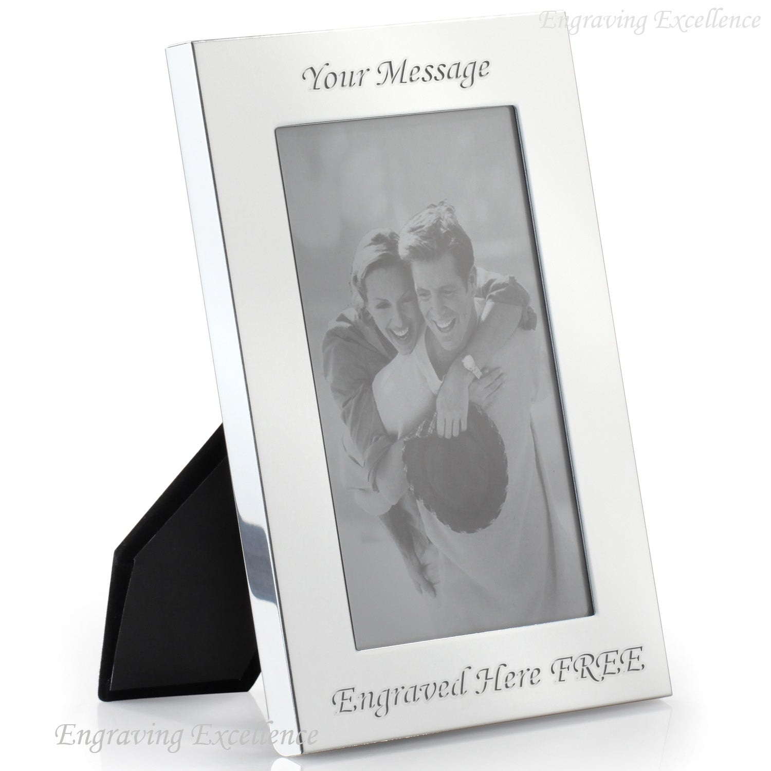 "Silver Plated Photo Frame 7""x5"""