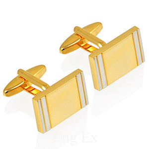 Gold and Silver Plated Cufflinks