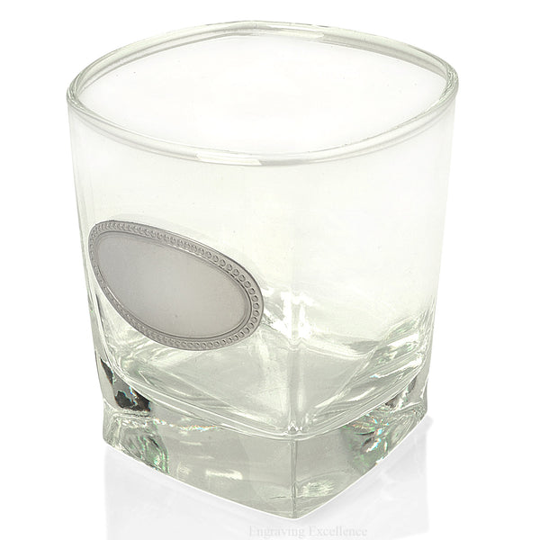 Badged Whiskey Tumbler