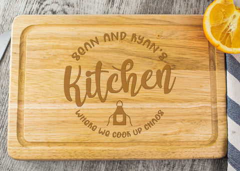 Wooden Chopping Board - Kitchen Design