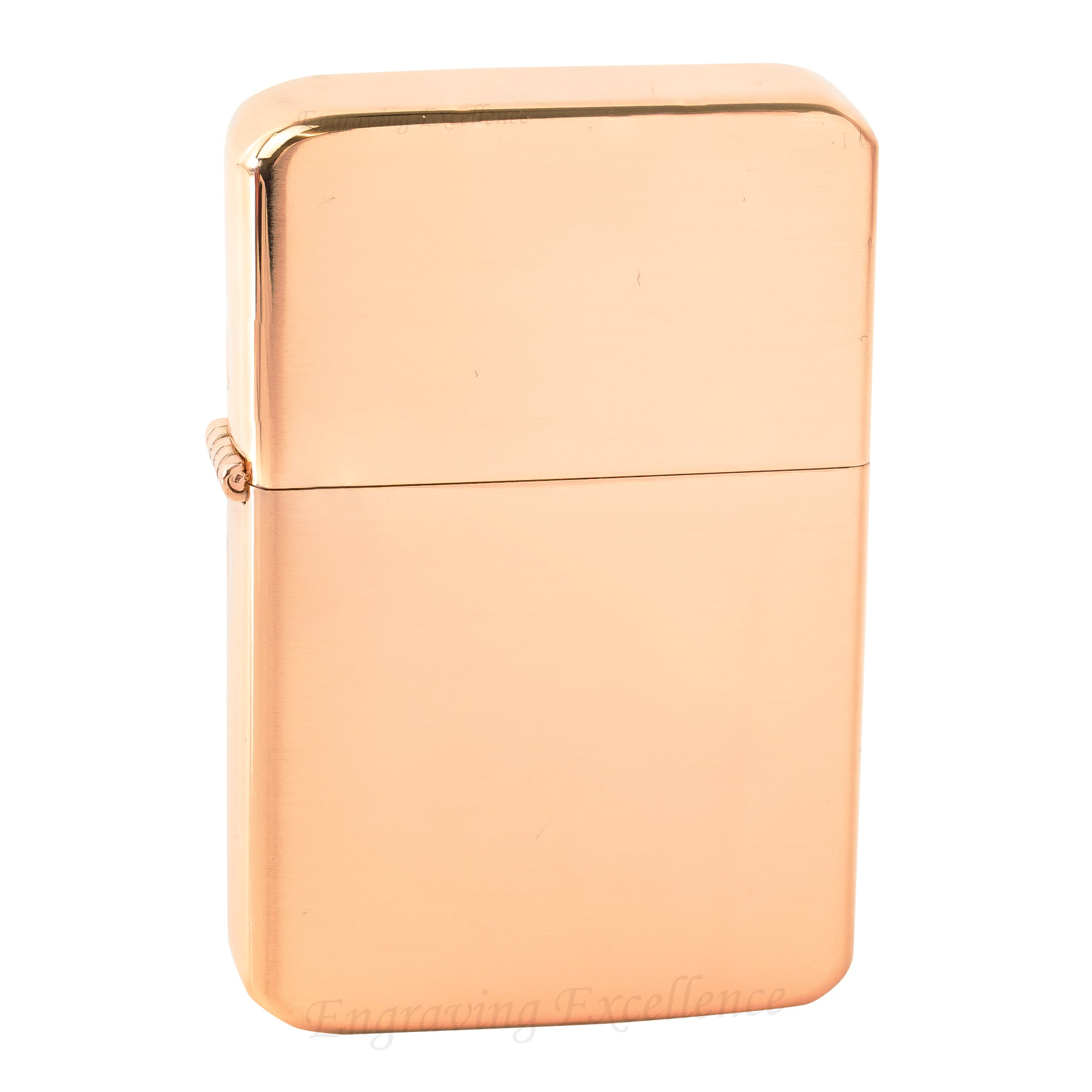 Premium Brass Flip Lighter - Rose Gold