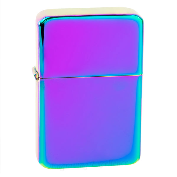 Premium Brass Flip Lighter - Rainbow