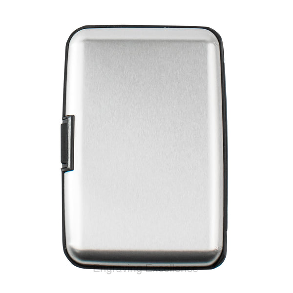 Aluminium Card Holder - Silver