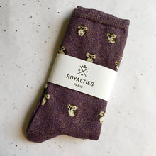 load photo into gallery viewer, royalties paris socks