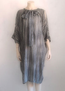 humanoid crepe viscose dress