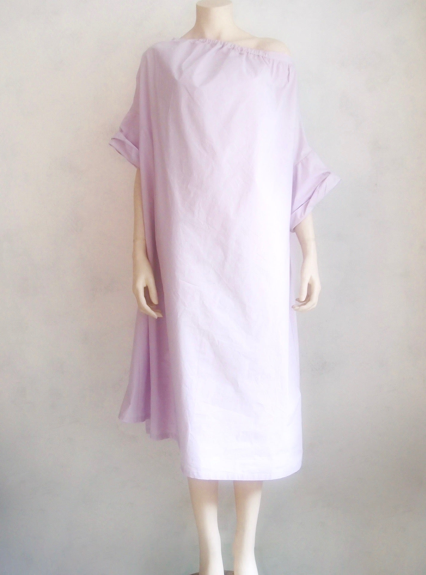 humanoid crispy cotton dress