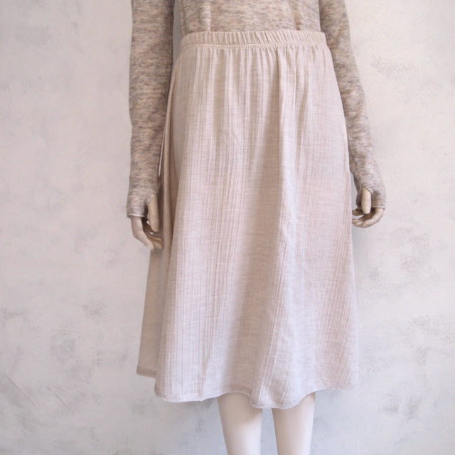 humanoid cotton wool skirt