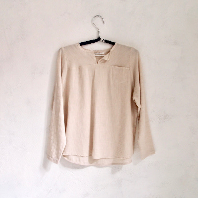 humanoid cotton wool blouse