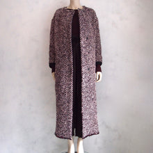 load photo into gallery viewer, humanoid tweed coat