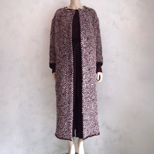 humanoid tweed coat