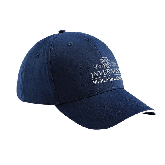 Inverness Highland Games Official Event Embroidered Baseball Cap