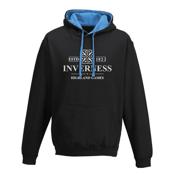 Inverness Highland Games Black Official Event Hoodie