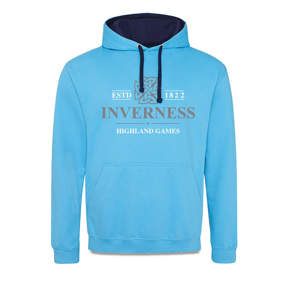 Inverness Highland Games Blue Official Event Hoodie