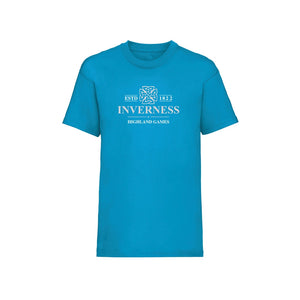 Inverness Highland Games Official Event Kid's Fitted T-Shirt