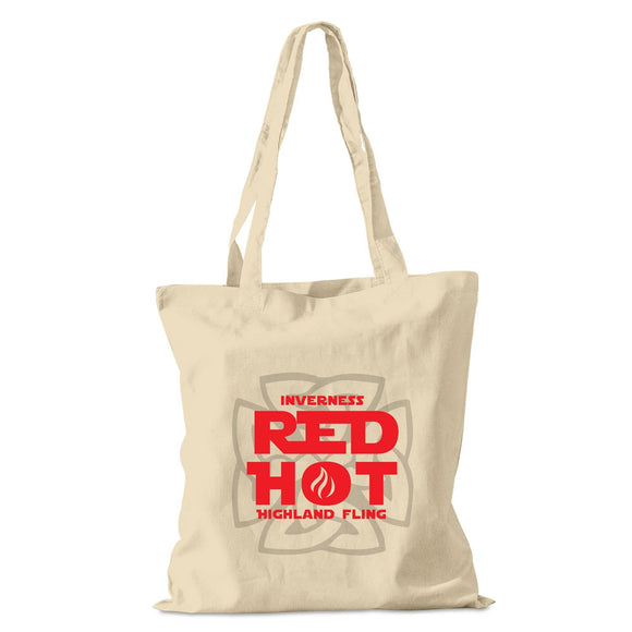 Inverness Red Hot Highland Fling Event Cotton Shopper