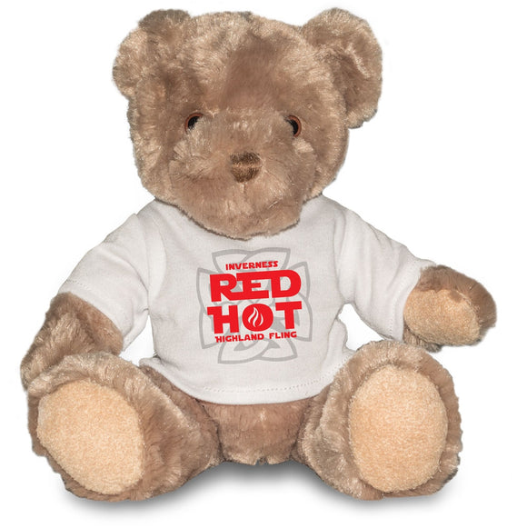 Inverness Red Hot Highland Fling Event Teddy Bear