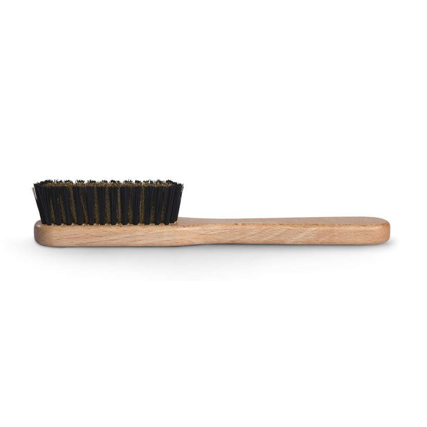 Suede brush with Brass