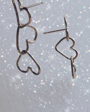 Load image into Gallery viewer, #SEW2SAVE Heart of Gold Earrings
