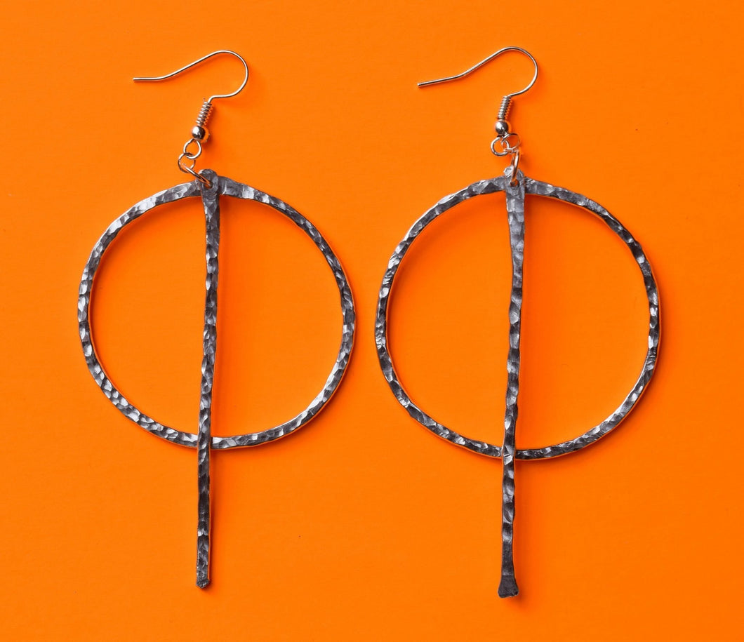 Geometric Drop Earring