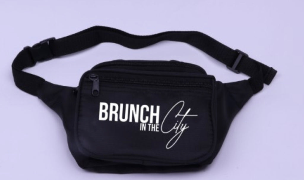 Brunch in the City Waist Bag