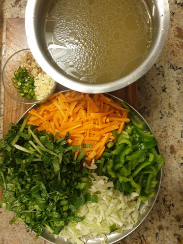 ingredients for low calorie soup