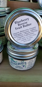 Blueberry Breeze Honey-Sweetened Fruit Butter