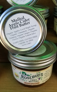 Mulled Apple Cider Fruit Butter