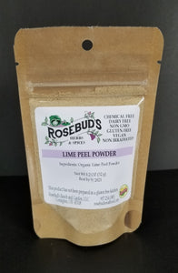 Lime Peel Powder, Organic