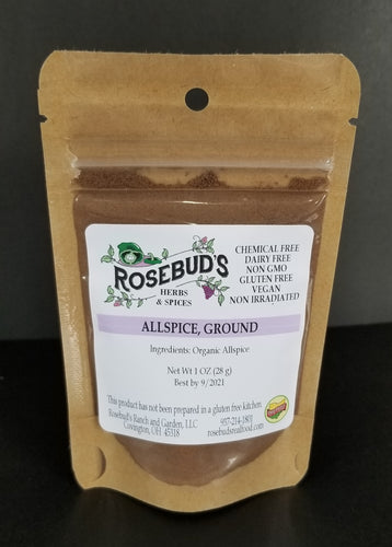 Allspice, Ground, Organic