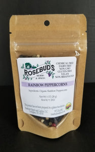 Peppercorns, Rainbow, Organic (1.1 oz)