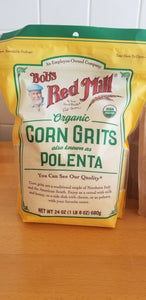 Bob's Red Mill Organic Corn Grits (1lb 8oz)
