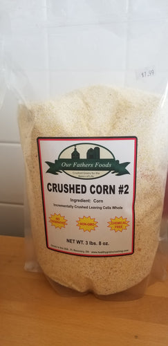 Our Father's Foods Whole Cell Crushed Corn #2