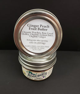 Ginger Peach Fruit Butter