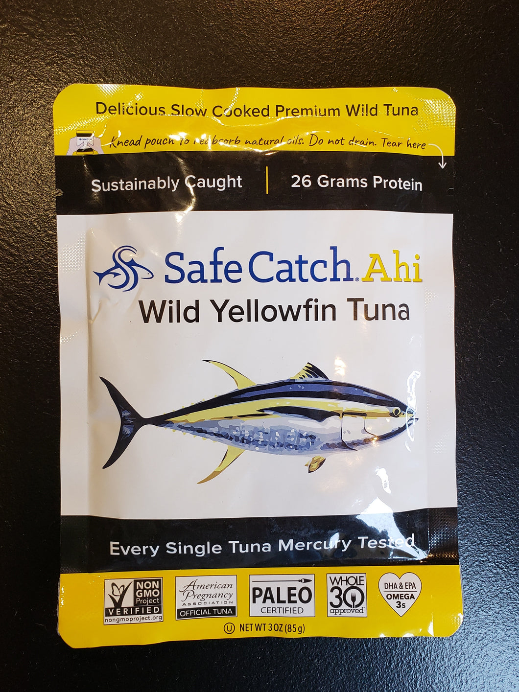 Safe Catch Ahi Wild Yellowfin Tuna Packet (3oz)