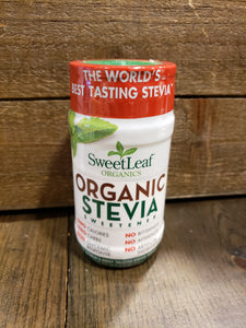 Stevia Sweetener Powder, Organic (3.2 oz)