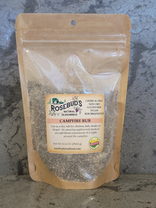 CAMPFIRE RUB - Use as a dry rub for chicken, fish, steaks or chops!  An amazing blend reminiscent of a back yard BBQ!