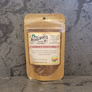 AMBER'S TANGY BBQ - Use as a dry rub for chicken, fish, steaks or chops!  An amazing blend resembling a vinegar based BBQ!